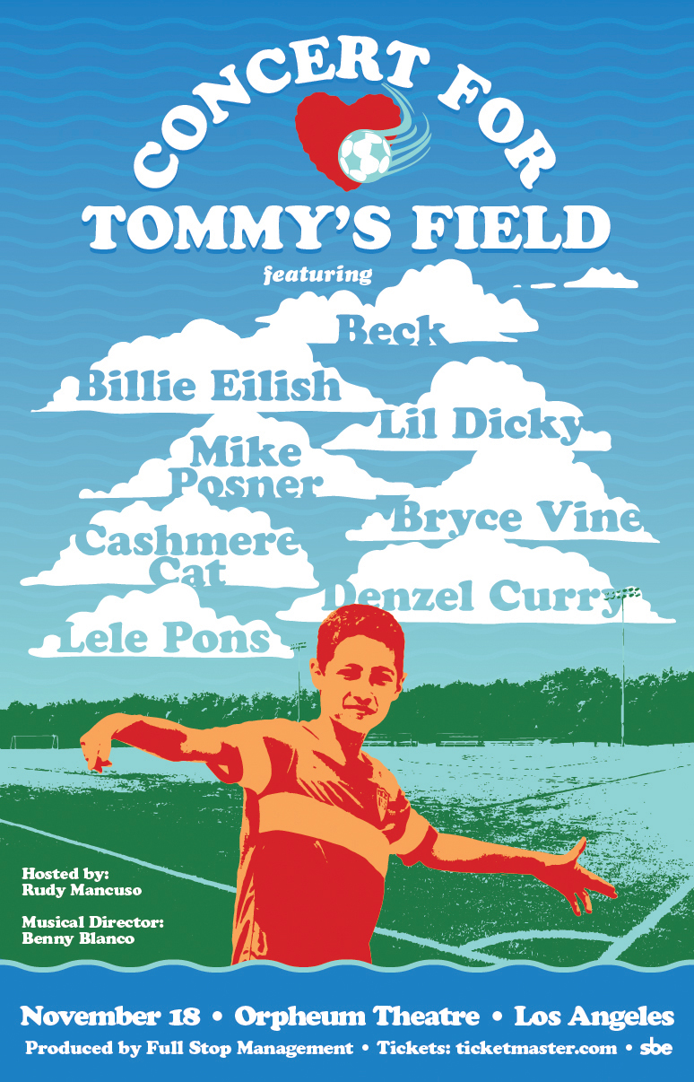 The Concert For Tommy's Field 18/Nov