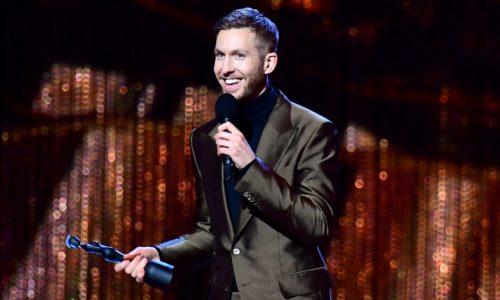 Calvin Harris Performs at the Brit Awards