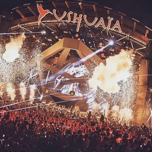 Huge Sell Out for Calvin Harris Opening Night at Ushuaia Ibiza