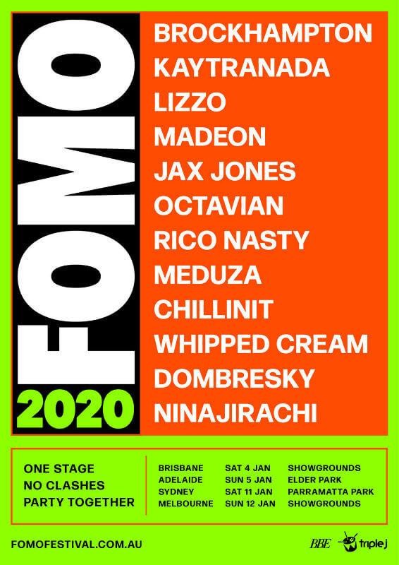 Brockhampton Joined FOMO Festival this January in Australia