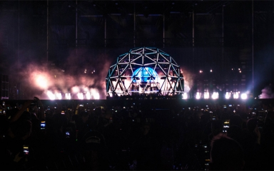 Dancing Astronaut Features Deadmau5 Stage
