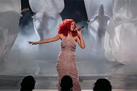 Rihanna American Idol 2011