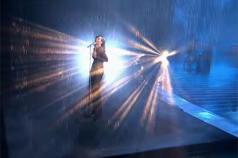 Rihanna UK X Factor 2012